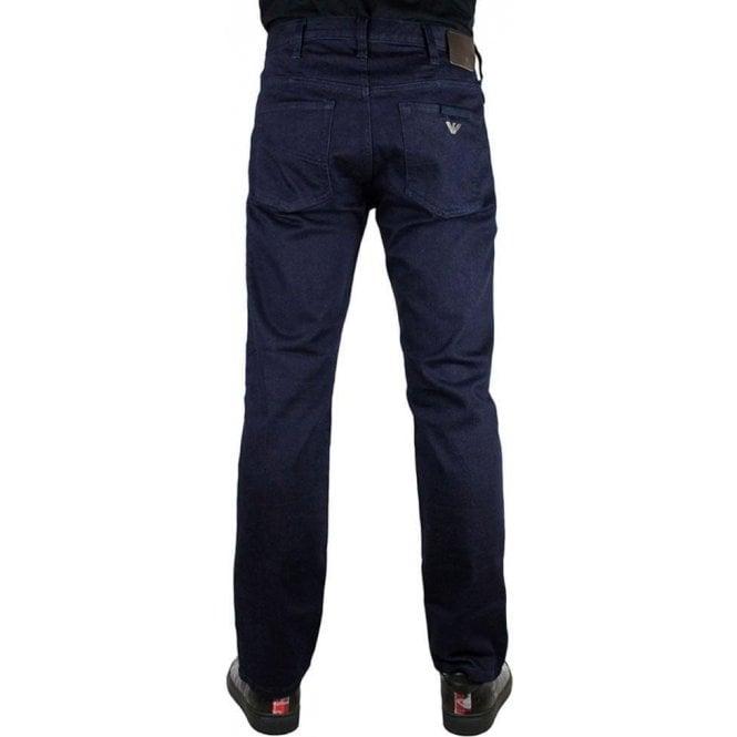 208950ed7add Armani Jeans J21 Regular Fit 30 quot  Short Leg Jeans in Dark Wash