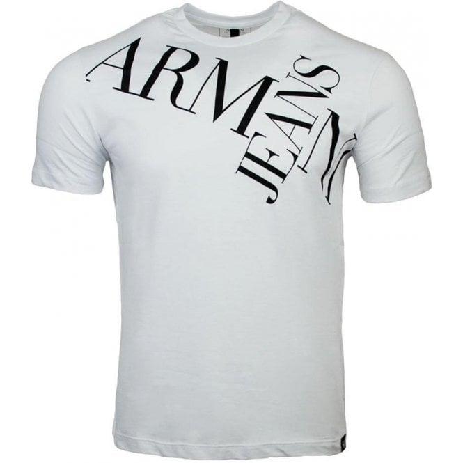 3e764ba8 Armani Jeans|Armani Jeans T-shirts AJ Jeans Tee in White|Chameleon Menswear