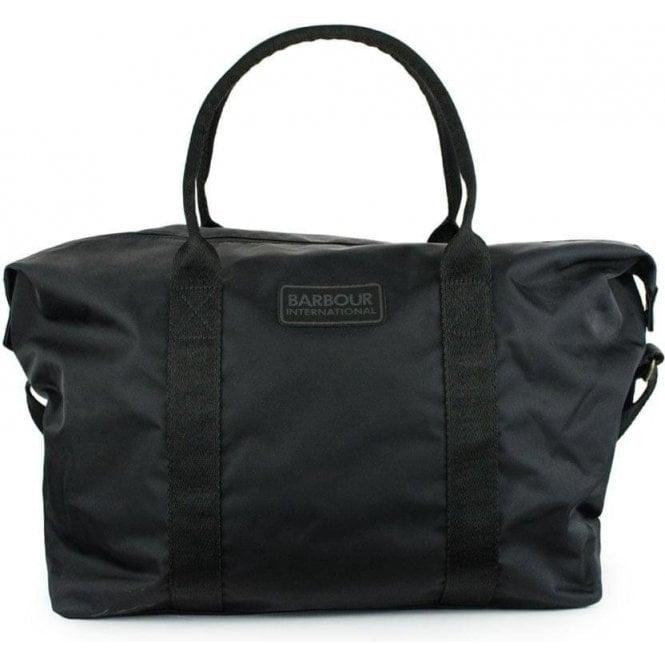0454c2c2d4812f Barbour International Chicane Holdall Bag in Black