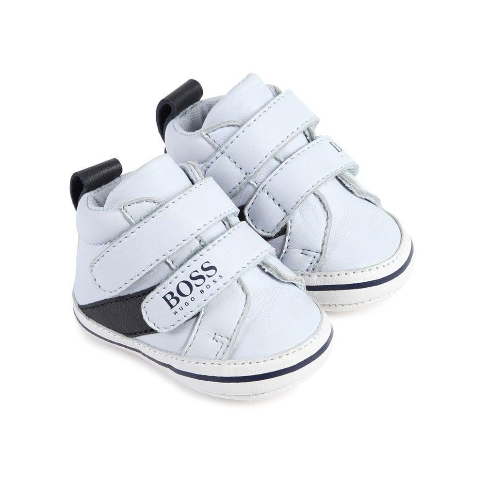 hugo boss baby trainers