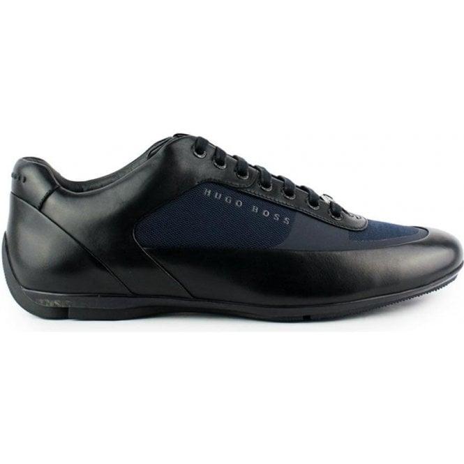 95be77d8 Boss Black|Boss Black HB Racing Trainers in Dark Blue|Chameleon Menswear