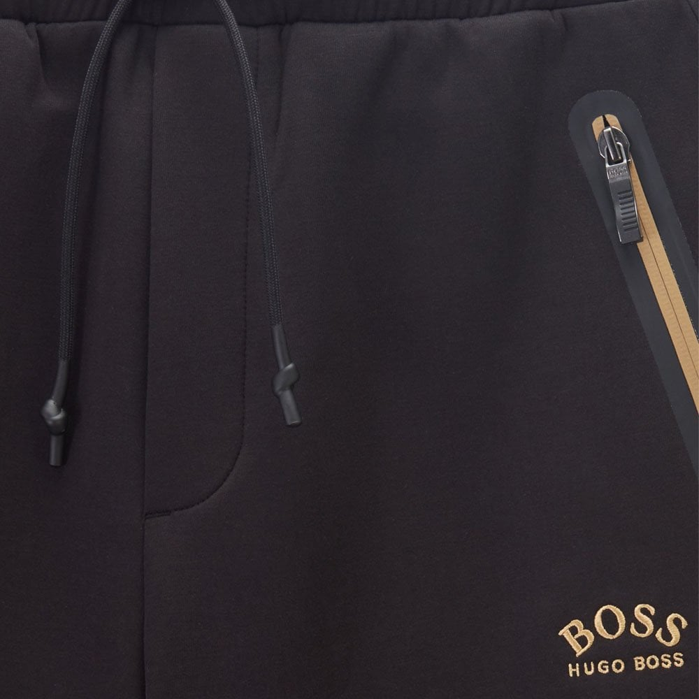 hugo boss black and gold tracksuit bottoms