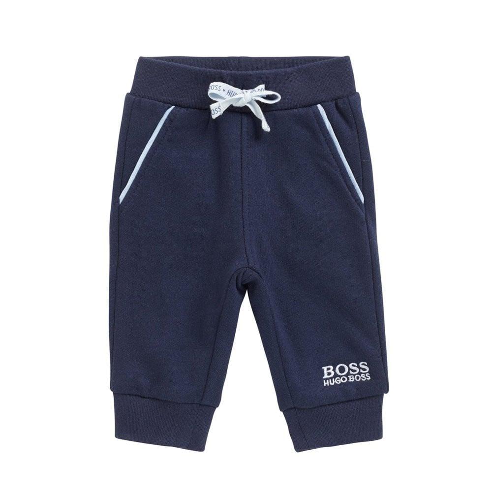 041f9f8f5 Boss Kids Baby Jogging Bottoms in Navy