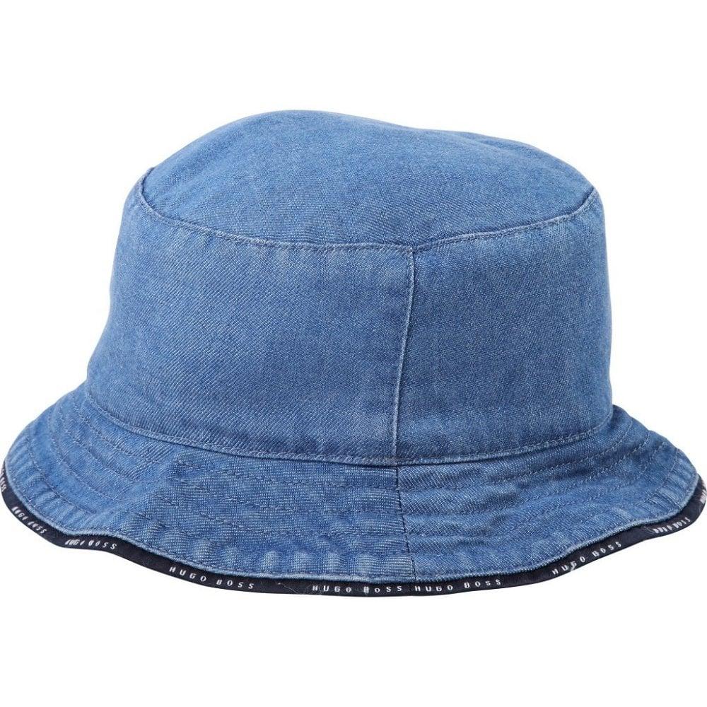 18c64cab27b Kids Denim Bucket Hat