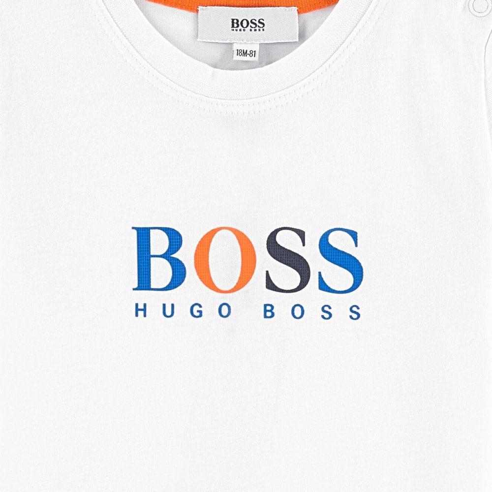 Hugo Boss Mens Basic V-Neck T-Shirt with Logo