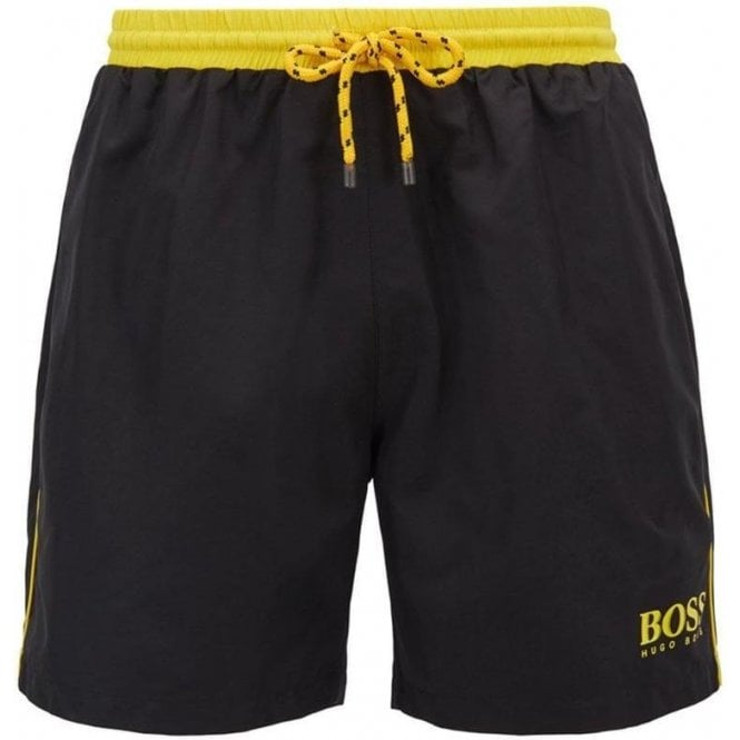 f8cd5096f6 Boss Loungewear|Boss Business Starfish Swim Shorts in Black ...