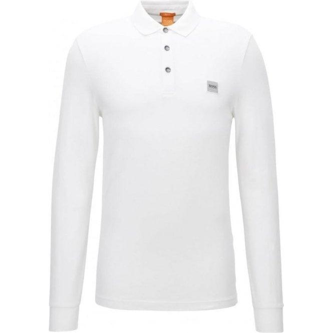f46905eae Boss Orange |Boss Orange Paulyn Polo Shirt in White| Chameleon Menswear