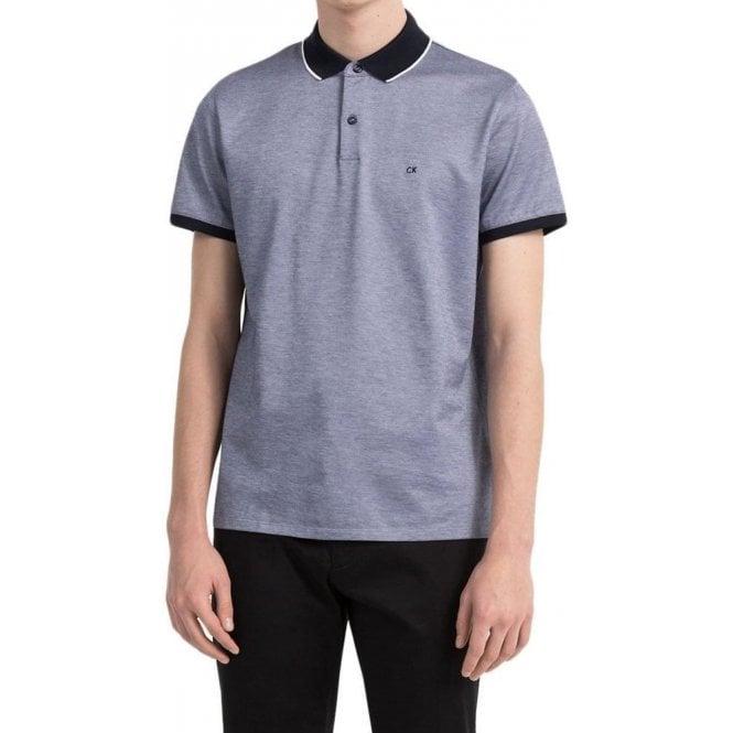 20f5d76490 Calvin Klein|Calvin Klein Polo Shirts Jasob Polo Shirt in Navy ...