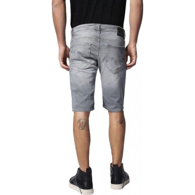 9ed58a52 Diesel|Diesel Denim Shorts Thashort in Grey|Chameleon Menswear