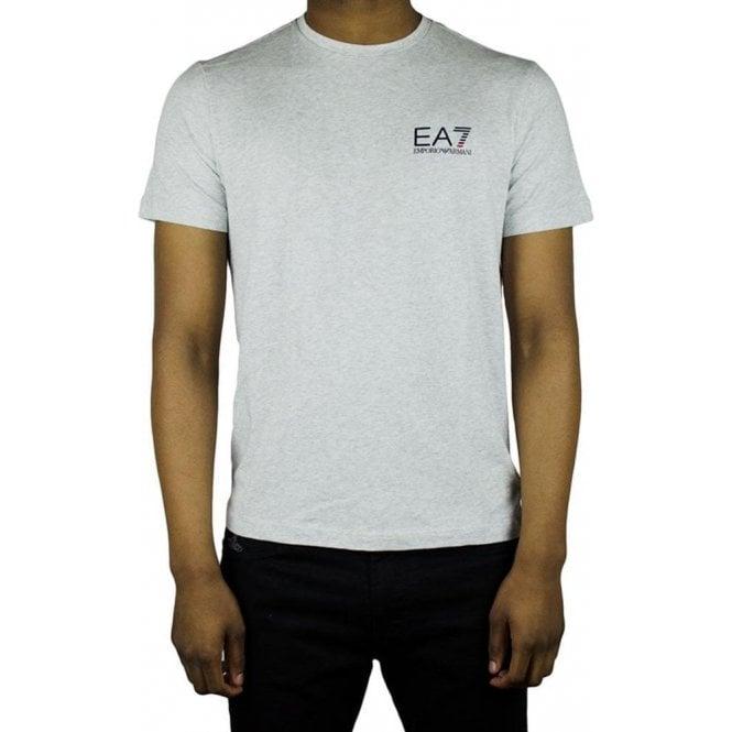 554027aa Ea7|Ea7 Core Logo T-Shirt in Grey|Chameleon Menswear