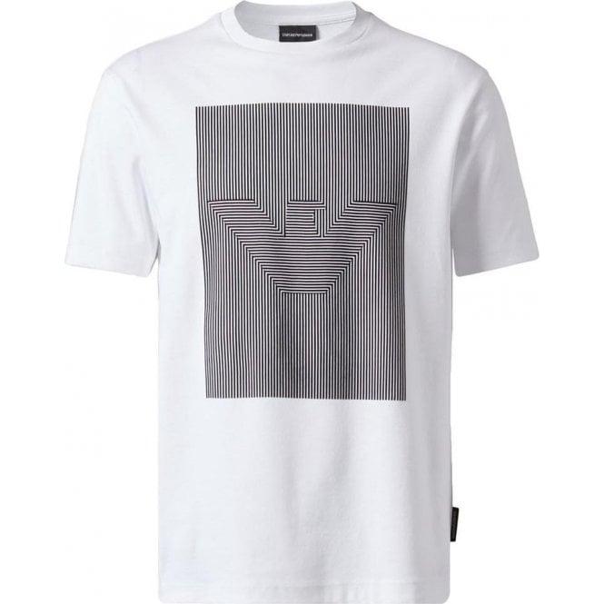37294c757ce Emporio Armani Barcode T-Shirt in White
