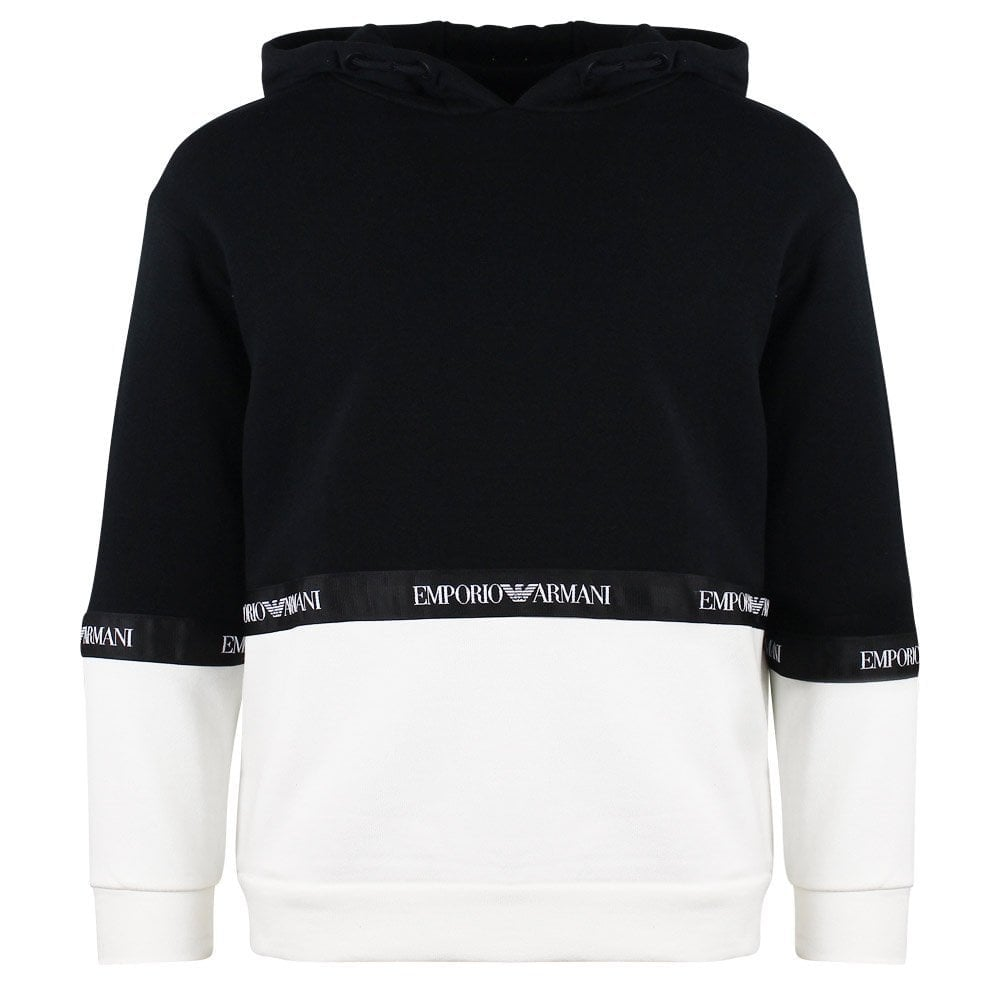 4bf4ebca Emporio Armani Kids Armani Tape Sweatshirt - Junior from Chameleon ...