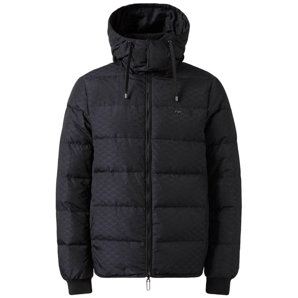 4179d98ba Emporio Armani Reversible Coat in Black