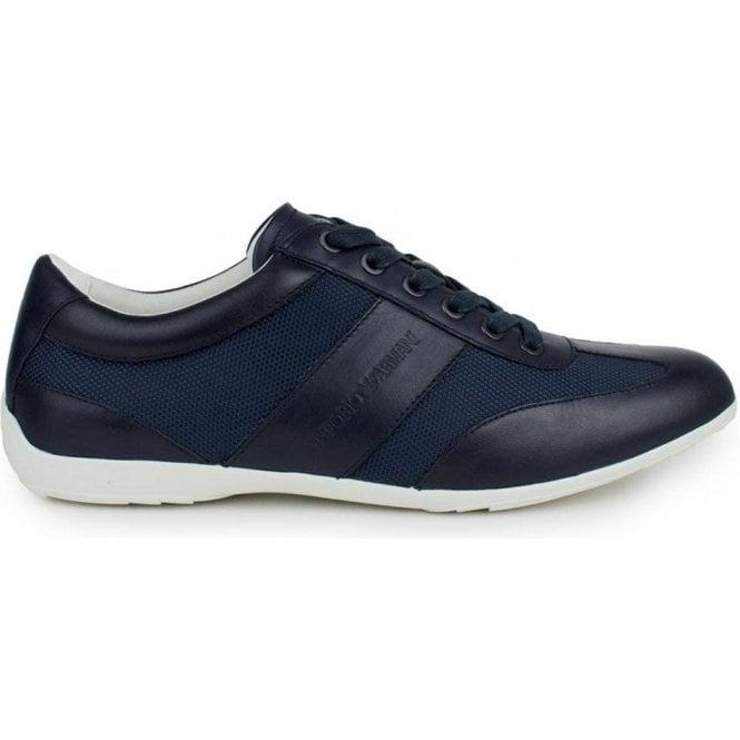 d01e6311e6 Emporio Armani Sport Sneakers in Navy