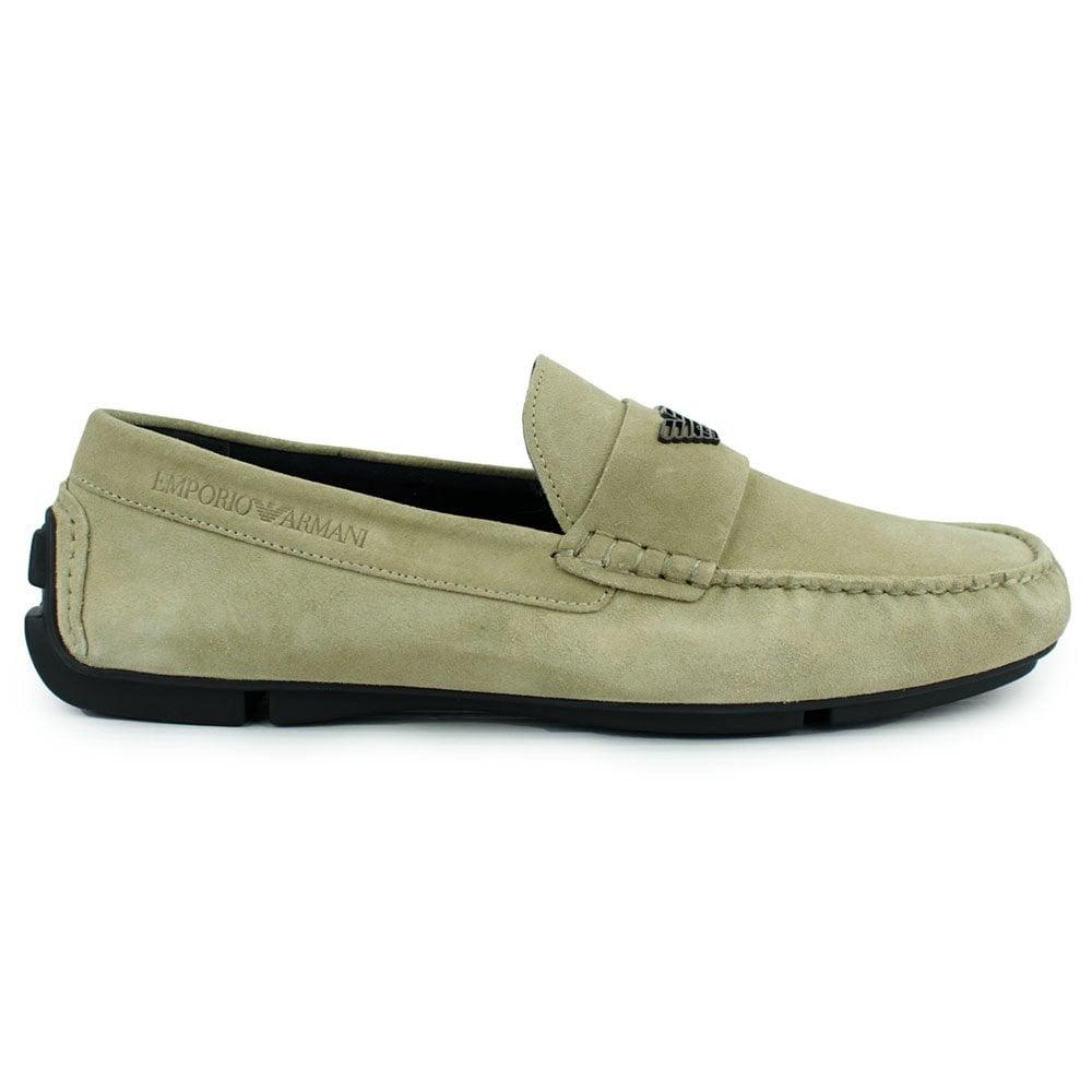 Emporio Armani Suede Loafers