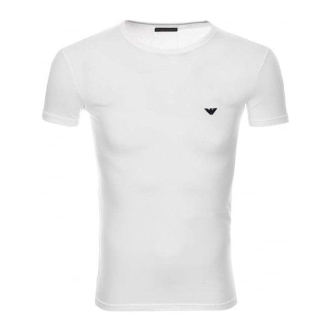 34a9b09f1 Emporio Armani|Emporio Armani Underwear Lounge Tee in White ...