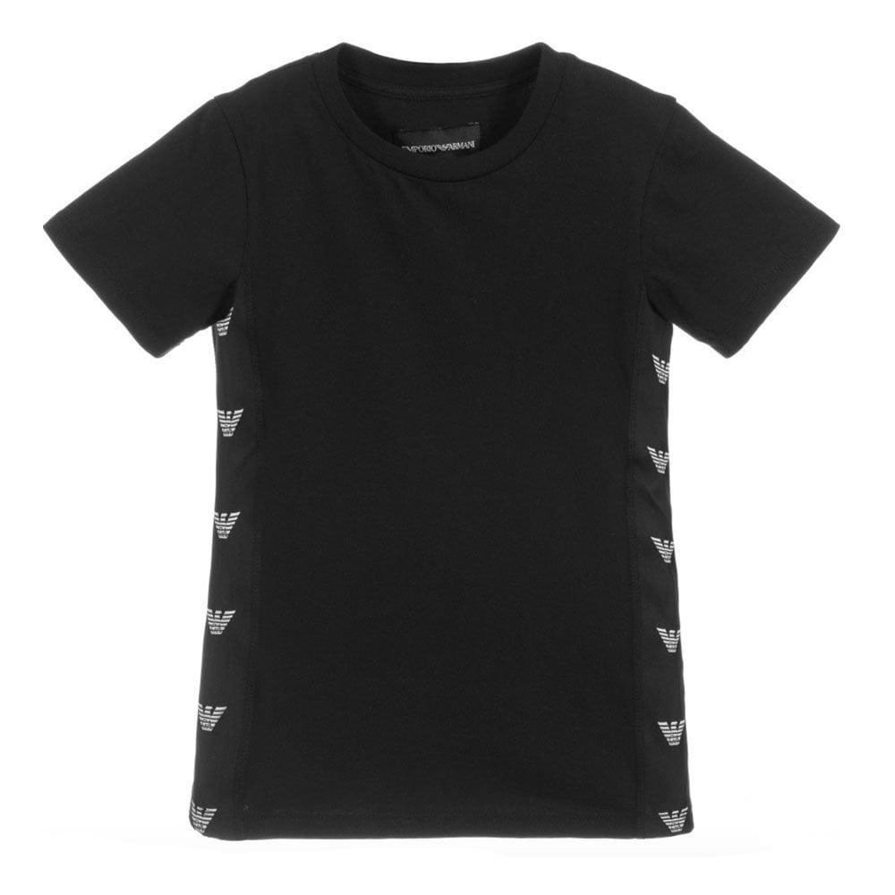 5fe0c1ad4aa Side Logo T-Shirt in Black