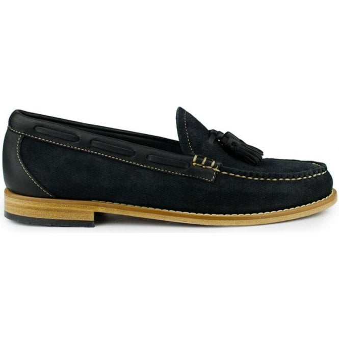 Weejuns Larkin Reverso Shoes in Navy 4fce75b35