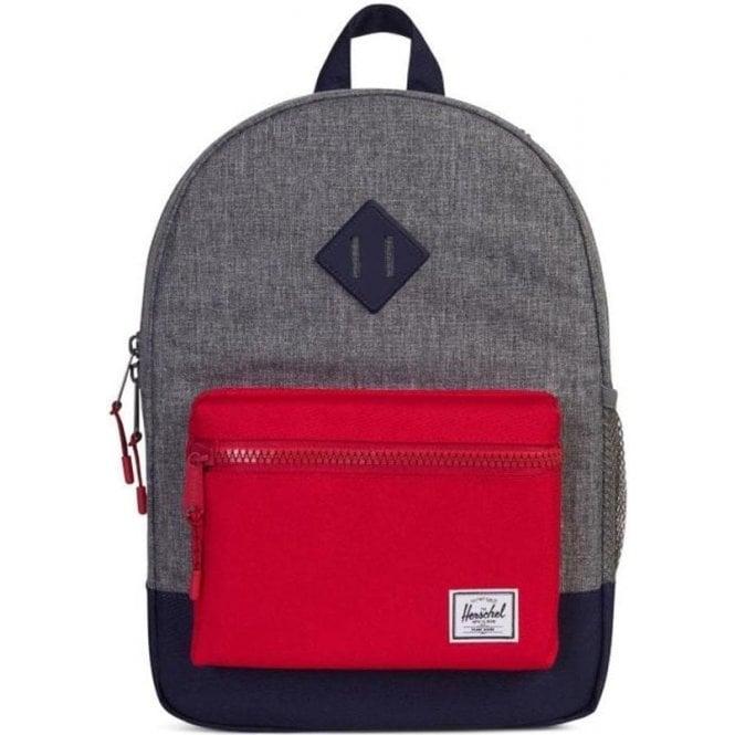 Herschel Supply Co  Junior Backpack Heritage Kids Backpack in Grey
