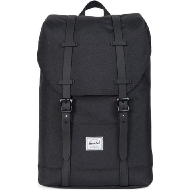 4d267e75b53f Youth Retreat Backpack in Black