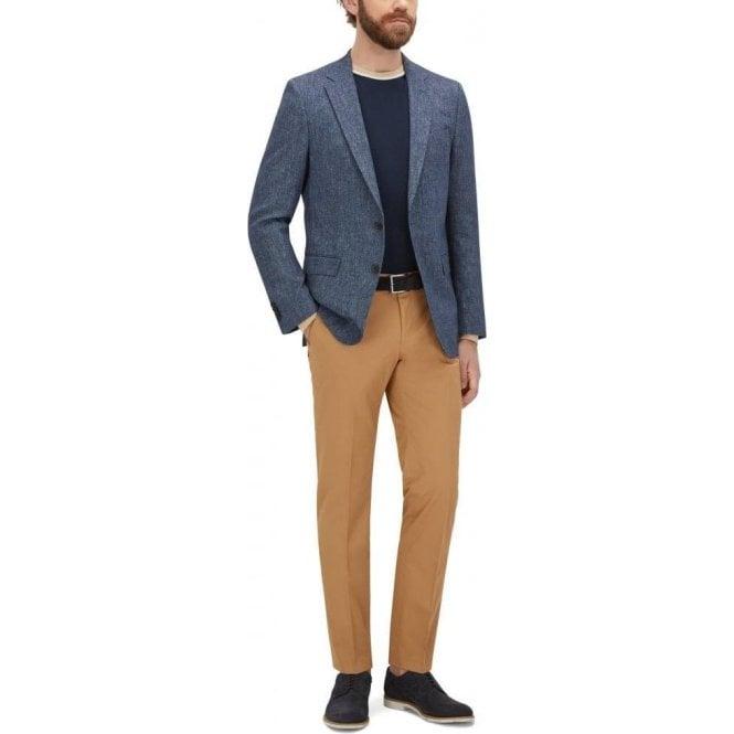 684e0058d872 Boss Black|Boss Black Balte Trousers in Beige|Chameleon Menswear