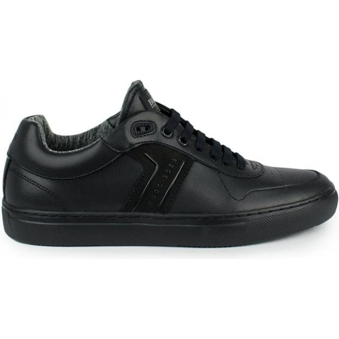 a5c5581943e2 Boss Green|Boss Green Enlight Tenn Trainers in Black|Chameleon Menswear