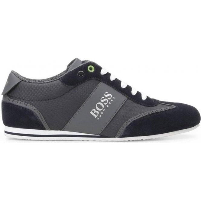 utterly stylish affordable price beauty BOSS Boss Green Lighter Low Trainers in Dark Blue