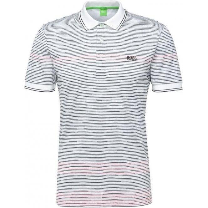 925a80f55 Boss Green|Boss Green Paddy 2 Polo Shirt in White|Chameleon Menswear