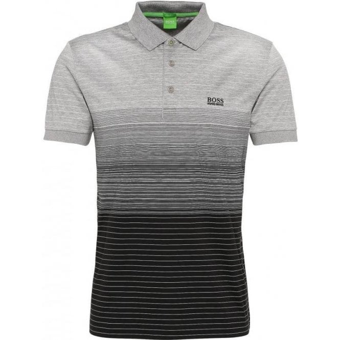 dccb9242 Boss Green|Boss Green Paddy 3 Polo Shirt in Black|Chameleon Menswear