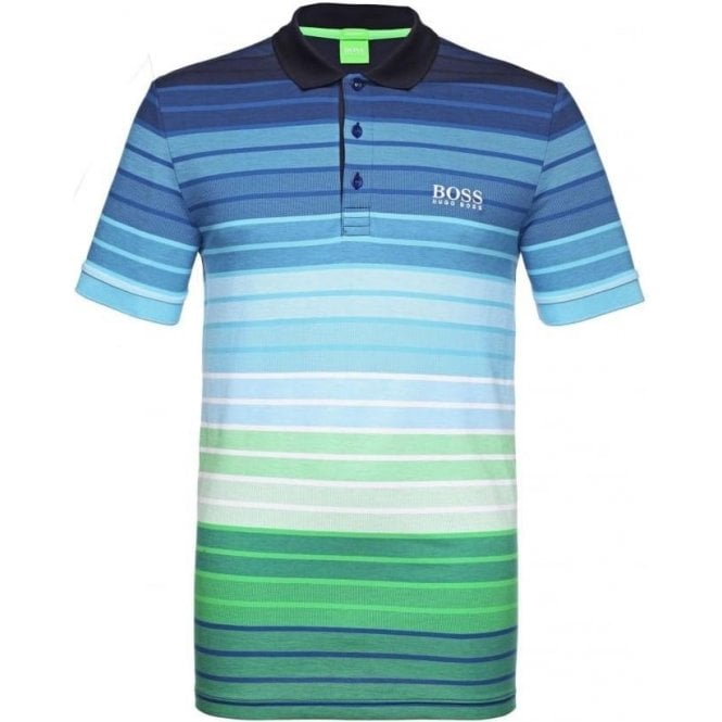 free delivery most desirable fashion watch BOSS Boss Green Paddy Pro 1 Polo Shirt in Navy