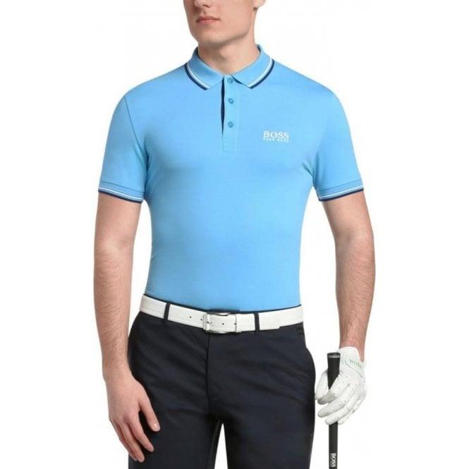 4f88c875f Boss Green Boss Green Paddy Pro Polo Shirt in Blue Chameleon Menswear