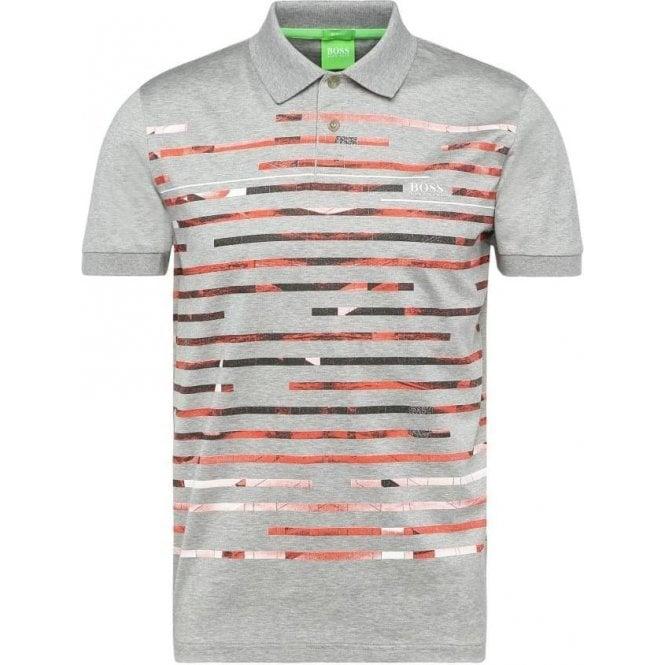 59c867841 Boss Green|Boss Green Paule 6 Polo Shirt in Grey|Chameleon Menswear
