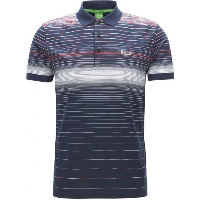 ca7689f2 Boss Green|Boss Green Paddy 3 Polo Shirt in Navy|Chameleon Menswear