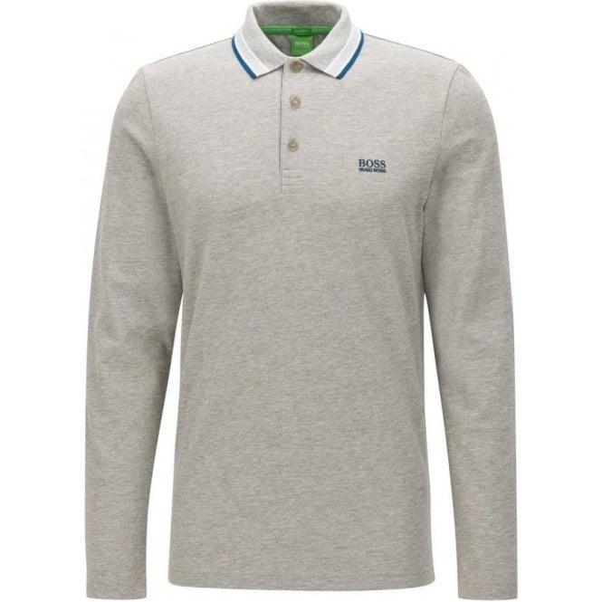fdcb10c85 Boss Green|Boss Green Plisy Polo Shirt in Grey|Chameleon Menswear