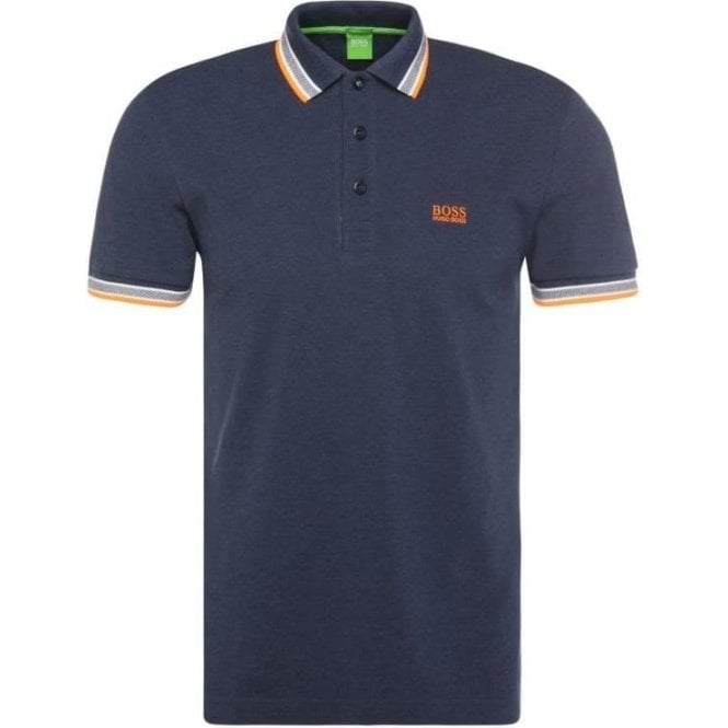 Hugo Boss Green Polo Shirts Paddy In Navy Blue 5f353ee45