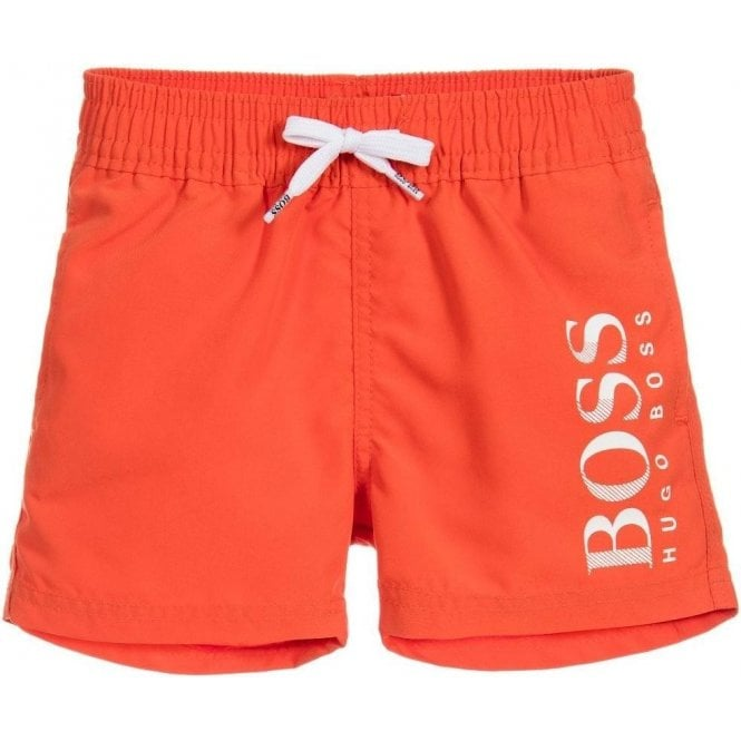 376210a99c57 12-18 Months Bermuda Swim Shorts in Orange