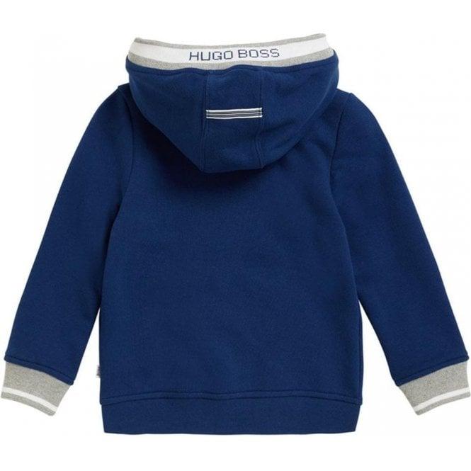 8a842ac88 Hugo Boss Kids|Boss Kids 14-16 Years White Stripe Sweatshirt in Blue ...