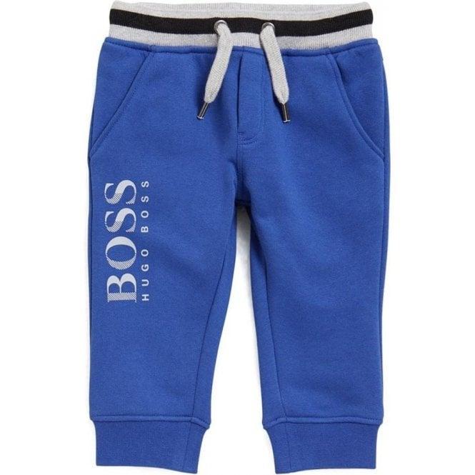 bb7eea01 Hugo Boss Kids|Boss Kids 2-3 Years Jogging Bottoms in Blue|Chameleon ...