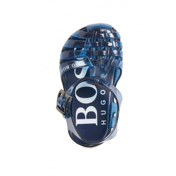 e4531632ac1 Boss Kids Jelly Sandals in Blue