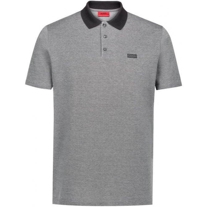 7a5952f1 Hugo |Hugo Dewlett Polo Shirt in Black| Chameleon Menswear