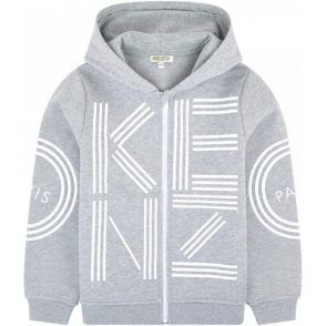 cc386164 Kenzo Kids|Kenzo 8-12 Years Tiger Sweatshirt in Grey|Chameleon Menswear