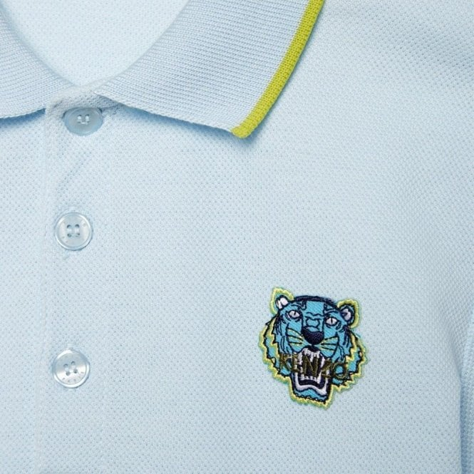 ef3e13cd2 2-4 Years Tiger Polo Shirt in Light Blue