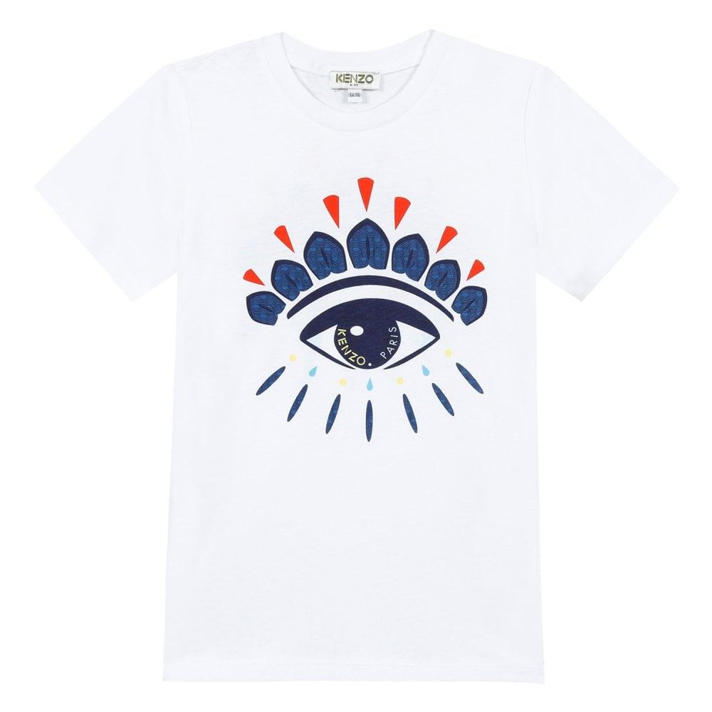 9767232e6 Eye Logo Print T-Shirt in White
