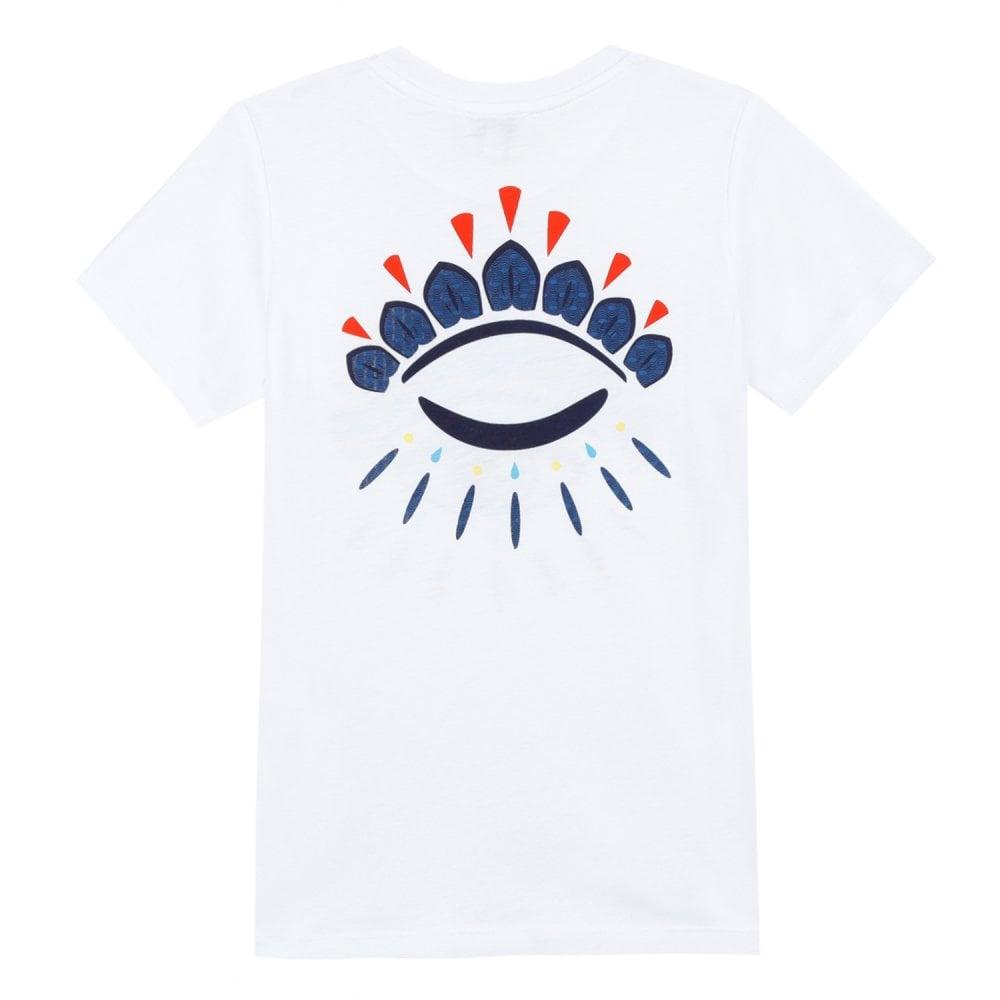 f0cf0b71 Eye Logo Print T-Shirt in White