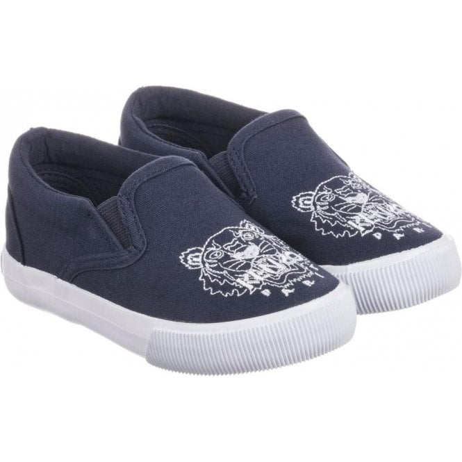 a4fe3df4ffc Kenzo Baby 20-24 Slip-on Shoes in Navy