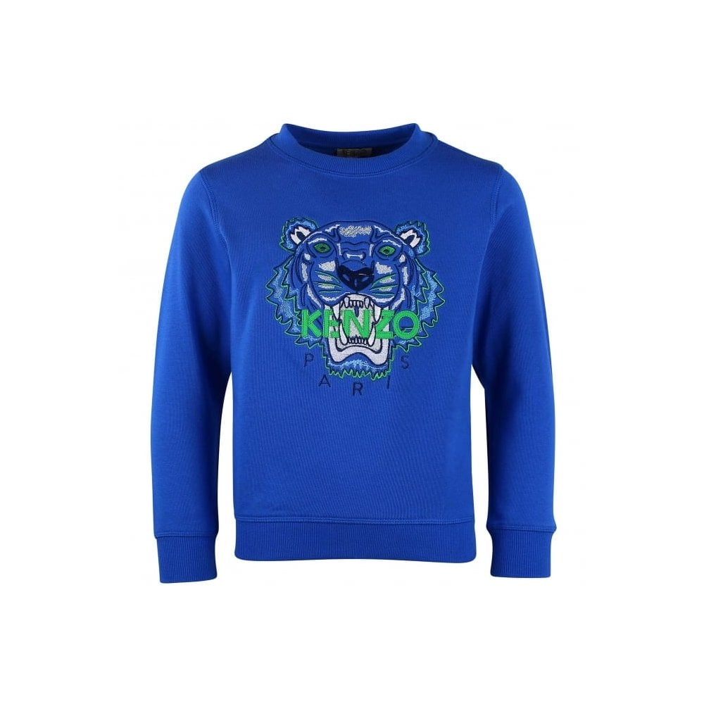 00065cb7 Kenzo Tiger Sweatshirt in Royal Blue