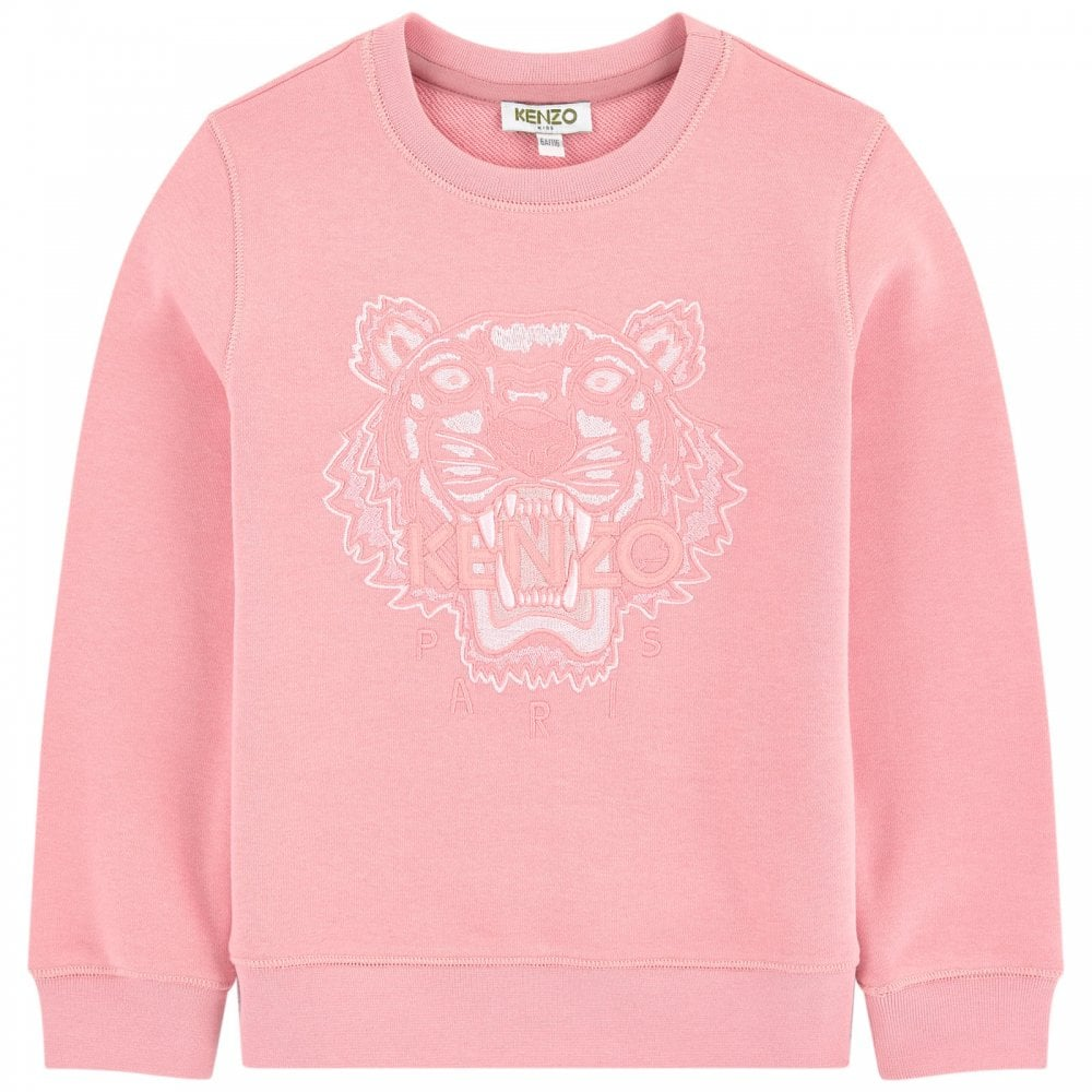 dc210cf2 Kenzo Kids Tiger Sweatshirt in Pink
