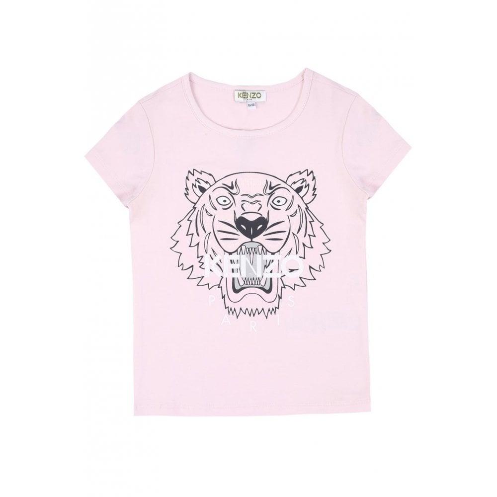 Shirt Kenzo Kids Pink Chameleon Tiger Junior Menswear Uk T In From uTFKl1Jc35