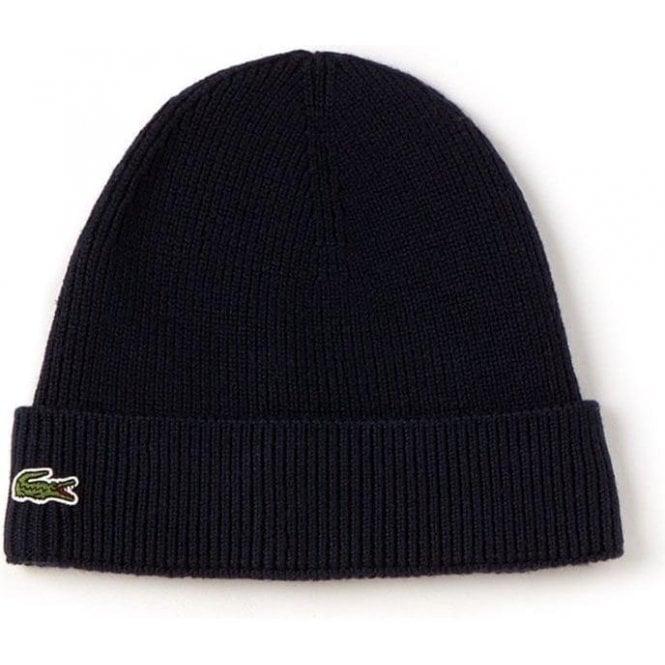 Lacoste Bonnet Hat in Navy 6dadc1549d49