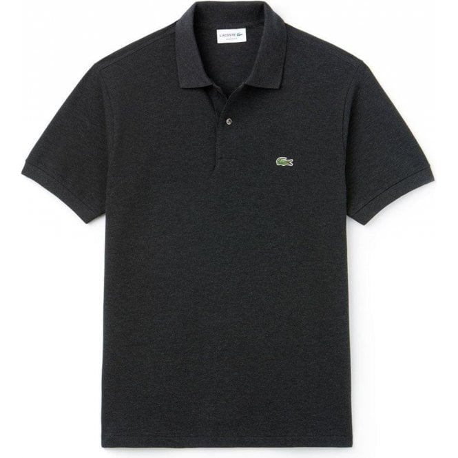 f9a3be32 Lacoste|Lacoste Classic Polo Shirt in Dark Grey|Chameleon Menswear